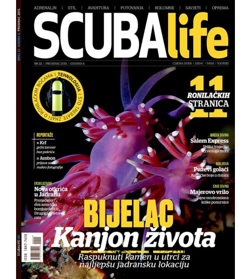Scubalife št. 22 - december 2015