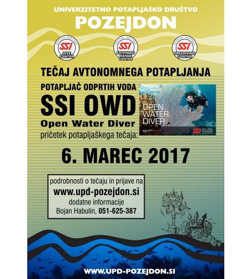 Začetni tečaj potapljanja - SSI OWD - Potapljač odprtih voda