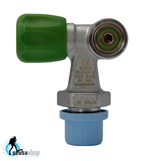 Ventil jeklenke SoprasSub Single valve - NITROX 232 bar